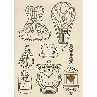 Wooden Shapes A5 Corsets & Accessories (KLSP053)