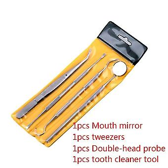 Dental Mirror Stainless Steel Dental Tool Set - Tooth Mirror Dental Kit