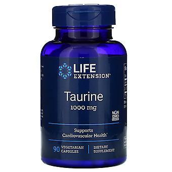 Life Extension, Taurin, 1.000 mg, 90 vegetarische Kapseln
