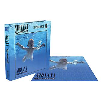 Nirvana Jigsaw Puzzle Nevermind Album Cover new Official 500 Piece
