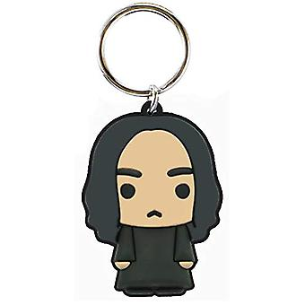 PVC Key Chain - Harry Potter - Snape Soft Touch New 48422