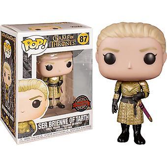 Funko Pop! Vinyl Ser Brienne von Tarth Sonderausgabe #87 Game of Thrones