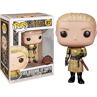 Funko Pop! Vinyl Ser Brienne Of Tarth Special Edition #87 Game of Thrones