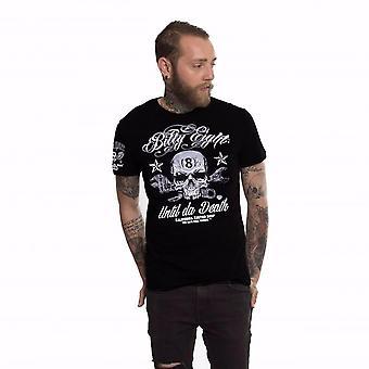 Billy eight- until da death mens t-shirt - black