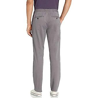 Brand - Goodthreads Men's Straight-Fit Washed Chino Drawstring Pant, G...