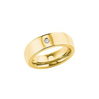 s.Oliver Jewel Kvinders Ring rustfrit stål IP Guld 202847