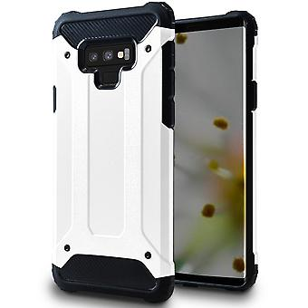 Mobile Protection for Samsung Galaxy Note 9 | Hard Hybrid Shell in White