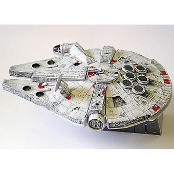 اوريغامي اليدوية اليدوية DIY نموذج ورقة قطع حرب النجوم فالكون طائرة مقاتلة- ورقة 3d