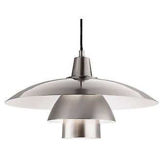Firstlight Olsen - 1 lys dome tak anheng børstet stål, E27