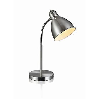 Markslojd NITTA - 1 Light Indoor Table Lamp Steel, E27