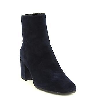 Aquatalia | Stivali con tacco a blocchi in camoscio Charlee