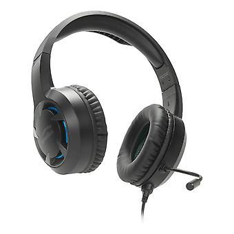 Speedlink Casad Stereo Gaming Headset met flexibele microfoon PS4 Zwart/Blauw