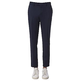 Traiano Tp20tr10tfl4 Men's Blue Nylon Pants