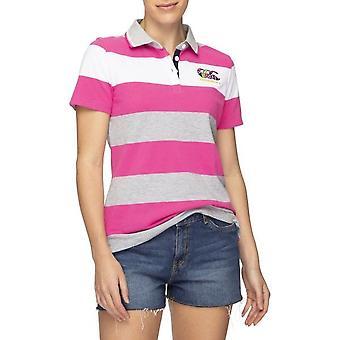 Canterbury Womens Uglies Stripe Soft Touch Polo Shirt