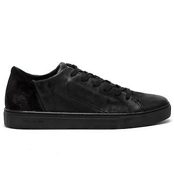 Mænds Sneaker Kriminalitet London Lav Top Minimal Black