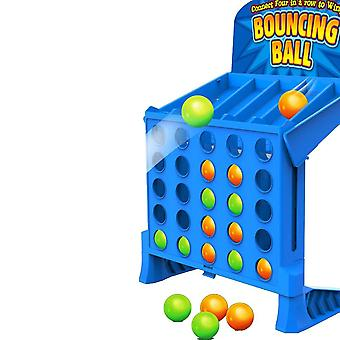 Bouncing Linking Shots Educational,'s Portable Jump Ball, Four-line Board Game