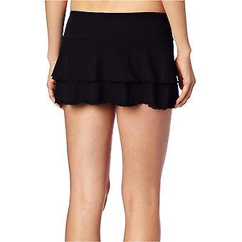 الجسم قفاز المرأة & apos;ق العصائر Lambada شبكة الصلبة تغطية ملابس السباحة تنورة, Blac ...