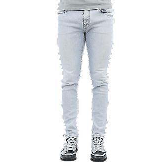 OFF WHITE Skinny Jeans Bleach Blue OMYA074F20DEN0014010 Pants