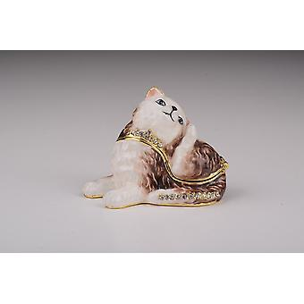 Cat Trinket Box