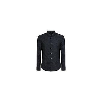 Emporio Armani Long Sleeve Shirt 6h1c09 1njzz