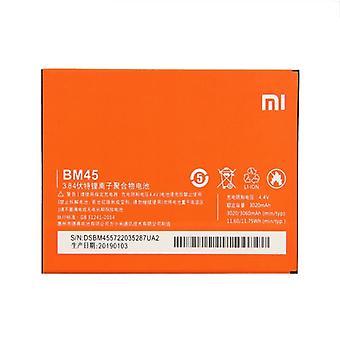 BM45 3020mAh ليثيوم البوليمر البطارية لبوليمر Xiaomi ملاحظة 2