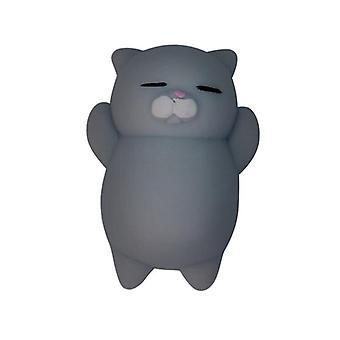 Fun Rubber Cute Cartoon Cat Stress Kids Jouet.