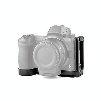 YELANGU CL1 YLG0716A Lodret Skyd Quick Release L Pladebeslag base holder for Nikon Z6 / Z7 (Sort)