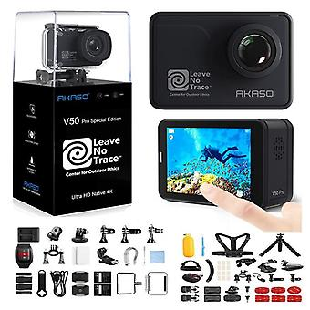 Action Camera With Touch Screen-waterproof With Wifi Remote Control