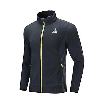 Men Outdoor Fleece Coat, Autumn Winter Warm Regular Fit, Sports Jacket