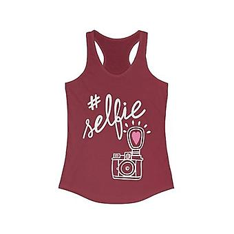 Selfie With Hand-drawing Camera Tank Top