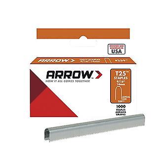 Arrow T25 Staples 14mm (9/16in) Box 1000