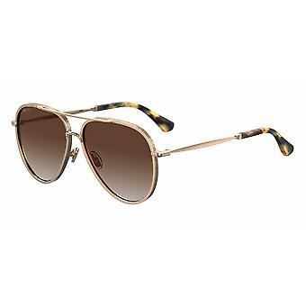 Jimmy Choo Triny/S J5G/LA Gold/Polarised Brown Gradient Sunglasses