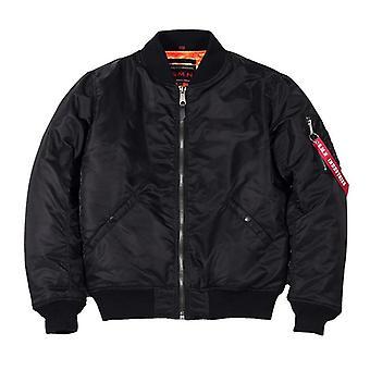 Men's Black Bomer Air Force Pilot Jacket - Outwear Tøj