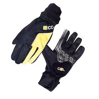 Eigo Windster Gel Cycling Gloves Black / Yellow