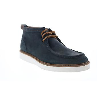 Andrew Marc Haven  Mens Blue Suede Chukkas Boots