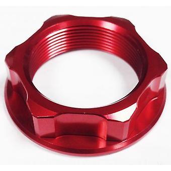 GP Pro Red Steering Stem Nut - M25 x 30 x P1.0 x H12
