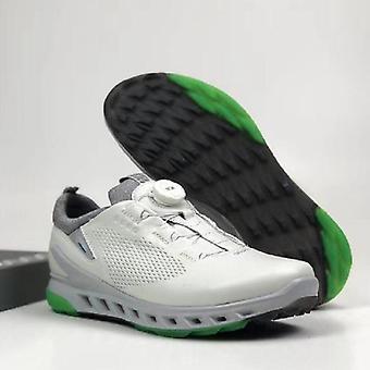 נעלי גולף לגברים, עור מקורי, נעלי אימון