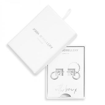 Joma Jewellery Treasure The Little Things Always Sparkle Silver Earring 3501