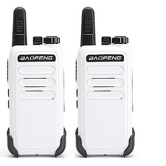 Mini Walkie Talkie Set, draagbare Usb Charge Handheld Two Way Radio Hunting