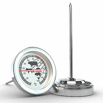 Stainless Steel Instant Read Probe Thermometer For Bbq Food Cooking Meat Milk