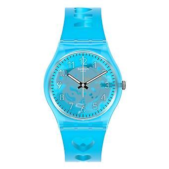 Swatch Gz353 Amor de A a Z azul silicona reloj