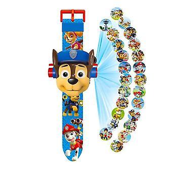 おもちゃのデジタル時計,プロジェクション,漫画パターン,タイムクロックアクション