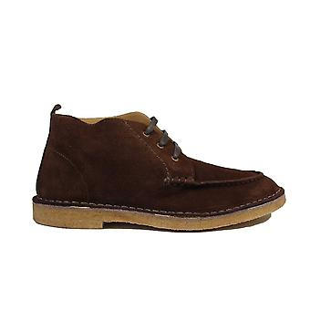 Loake Daniels Dark Brown Suede Leather Mens Chukka Boots