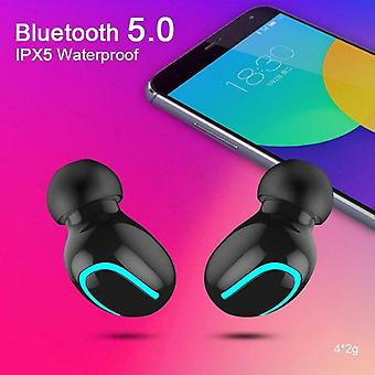 Us 5.0 bluetooth headset tws wireless earphones twins earbuds stereo headphones