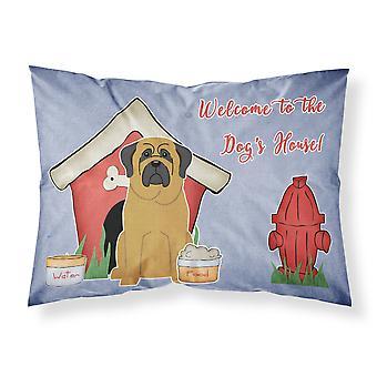 Caroline's Treasures Dog House Collection Mastiff Fabric Federa standard Bb2772Pillowcase, Multicolor
