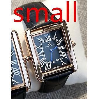 Luxury 100% Leather Watch Fashion Quartz Lady Wristwatch