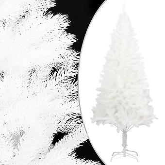 vidaXL الاصطناعية شجرة عيد الميلاد نابض بالحياة الإبر الأبيض 180 سم