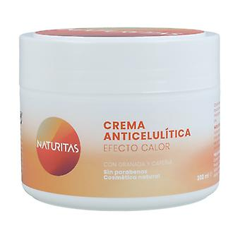 Anti-cellulite creme varmeeffekt 300 ml fløde