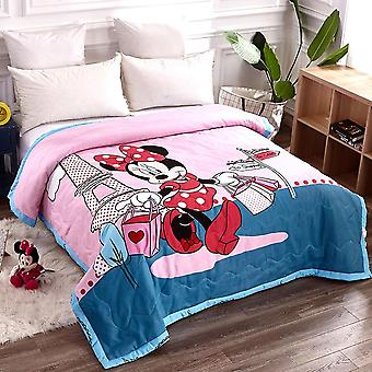Baby Cotton Kołdra koc dla niemowląt, Cartoon Koc Sleep Cover