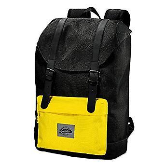 Borussia Dortmund BVB - Travel backpack, colour: Anthracite/Yellow